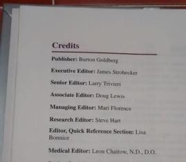 book credits