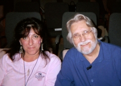 With Neale Donald Walsch, shortly after he offered, without even being asked, to write a foreword for my first book.