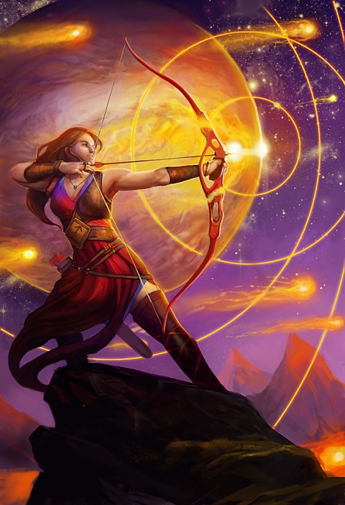 Image borrowed from http://juliedillon.deviantart.com/art/Sagittarius-Llewellyn-Worldwide-350662565