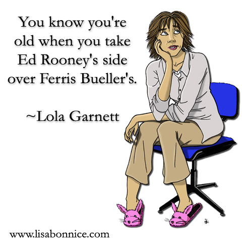 Lola Garnett, from Be Careful What You Witch For! shares words of wisdom.